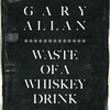 Waste Of A Whiskey Drink Gary Allan